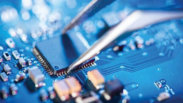 Image of a circuit board