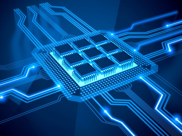 chips on board with connections transmitting signals   The Calibre DESIGNrev FileMerge functionality supports a variety of chip assembly and editing flows to create full-chip layouts ready for sign-off verification without the heavy hardware requirements of traditional design tools.