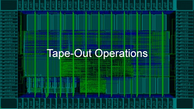 Calibre Tape-Out Operations software products improve production throughput and management of system utilization for the IC production flow.