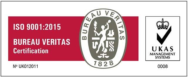 ISo 9001 UKAS logo