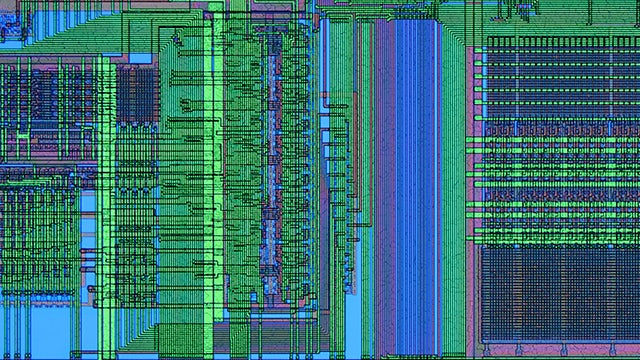 IC layout screenshot | Calibre Multi-Patterning technology provides industry-leading multi-patterning decomposition, verification, and error debugging. Supports all major foundry methodologies and processes.