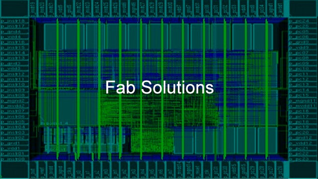 Calibre Fab Solutions software improves product yield and provides faster ramp by structuring and analyzing massive amounts of data