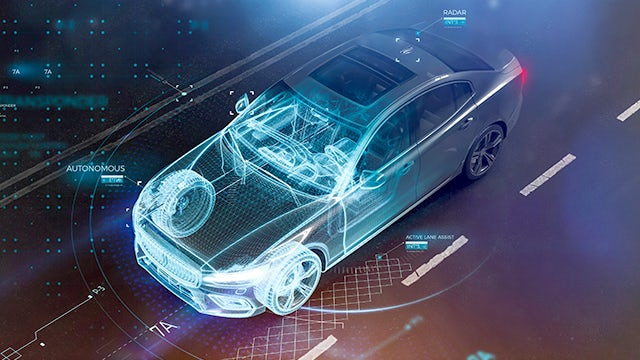 car schematic morphing into real car | The Calibre RealTime Custom interface enables on-demand immediate Calibre DRC feedback for custom and analog/mixed-signal (AMS) design flows, improving DRC productivity by 2-4X.