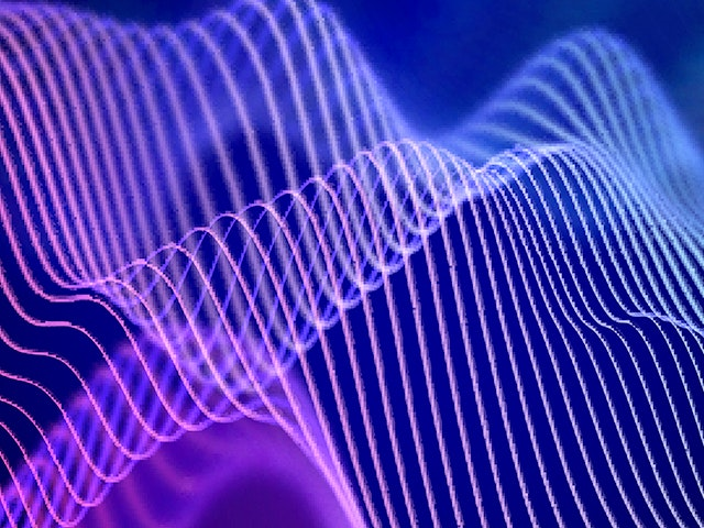 Purple line waves | The Calibre xL tool offers designers fast and accurate extraction of full-chip frequency dependent loop inductance and loop resistance.