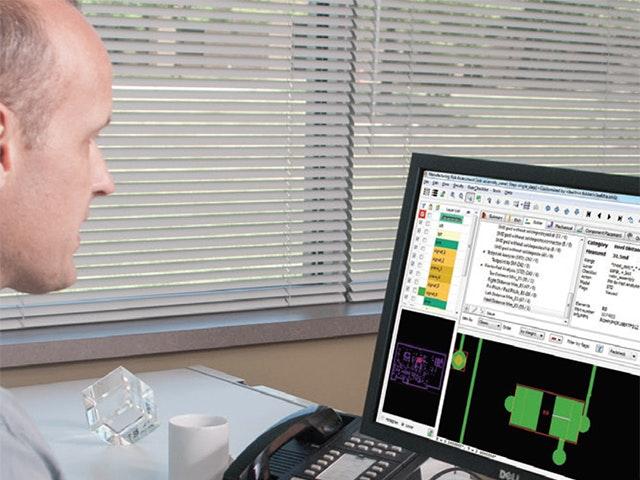 Man using Valor NPI software