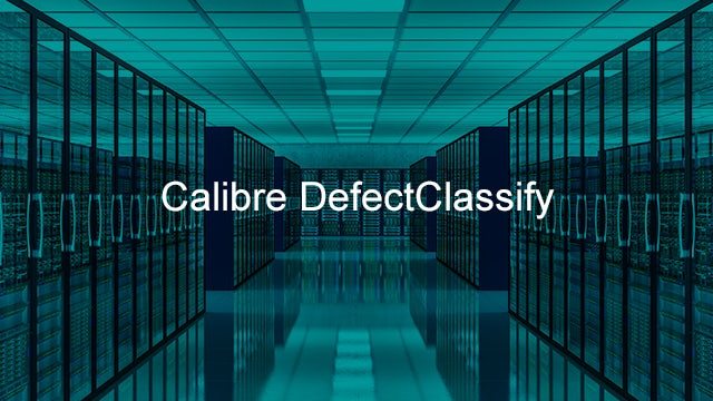 Calibre DefectClassify identifies, classifies, and characterizes defects observed during mask inspections.