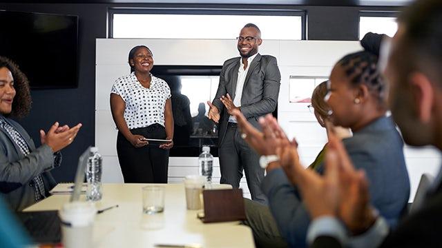 Portrait image of Siemens Black Employee Community ERG leader Eugene Lawson