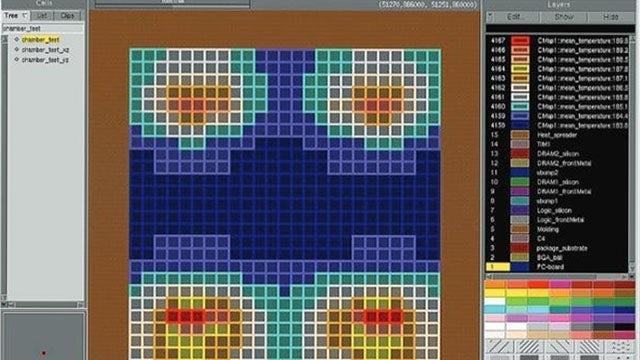 Simcenter Flotherm screenshot