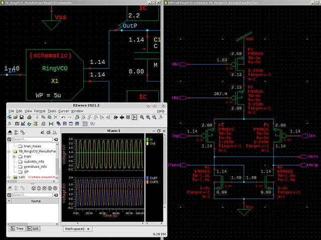 Multiple-views per cell to support Analog Mixed-Signal Design including: SPICE, schematic, Verilog, Verilog-A, layout, Verilog-AMS, VHDL, and VHDL-AMS views