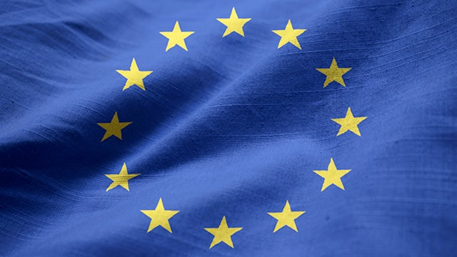 European flag representing Siemens EMEA Diversity and Inclusion community