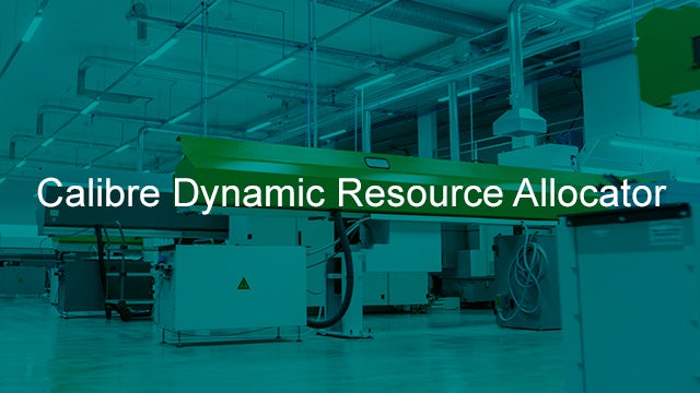 Calibre Dynamic Resource Allocator (DRA) enables users to adjust the number of CPU cores assigned to a running Calibre job. The command line interface provides access to job resource utilization and current operations.