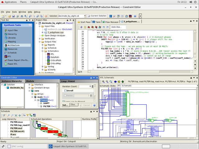 Catapult GUI image