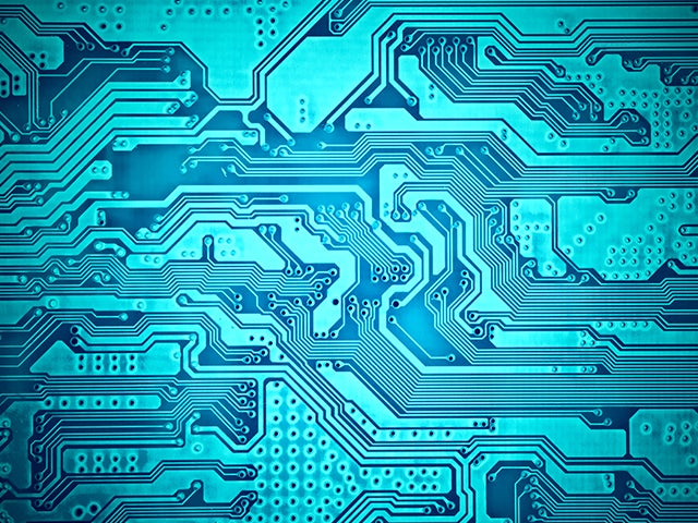 Closeup of printed circuit board   Xpedition supports multi-user, multi-site tool-based and flow-based concurrent engineering throughout the product development process.