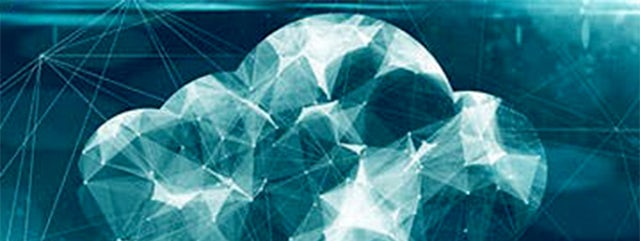 technology link cloud vector art