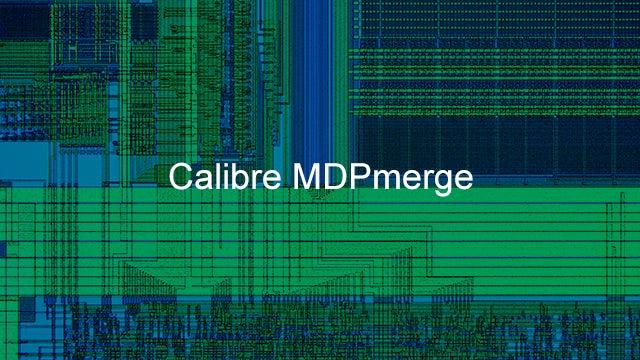 calibre mdpmerge product