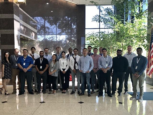 Siemens Genesis Program recent graduates kickoff image