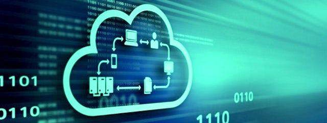 IoT server code cloud icon