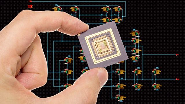 Chip over schematic