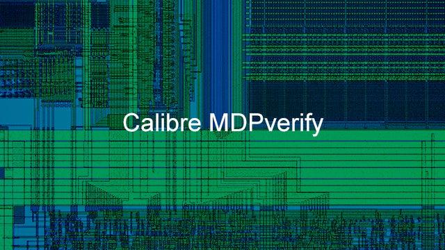 calibre mdpverify product