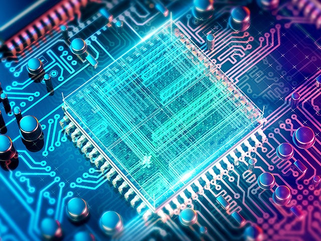 Virtual chip schematic overlaid on board   The Calibre DESIGNrev tool is a fast, flexible chip-finishing platform that helps reduce cycle time from chip assembly to sign-off verification.