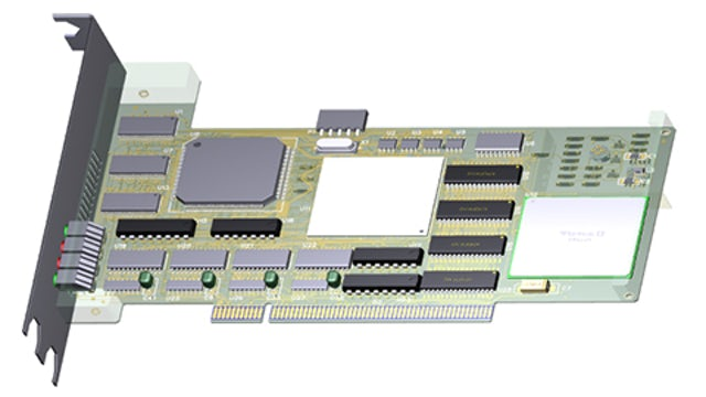 PCB layout example