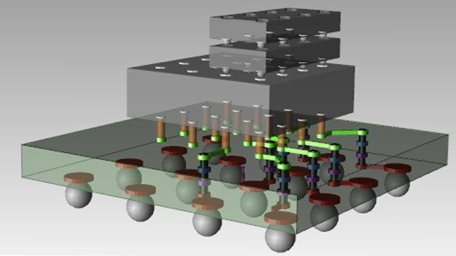 Digital image of Multi-Substrate Integration