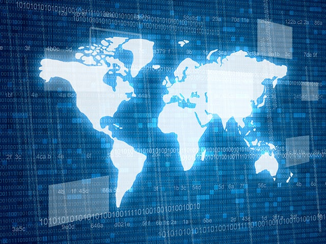 world map overlaid with binary code | The Calibre xACT tool uses standard SVRF rule files to produce parasitic netlist formats. Interoperable with Calibre nmLVS and Calibre nmDRC platforms and supported by all major foundries. Provides trusted device recognition, connectivity extraction, and ease-of-use in existing user sign-off flows.